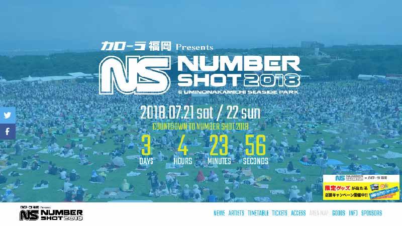 NUMBER SHOT2018